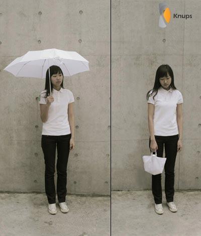 paraplu en handtas in 1