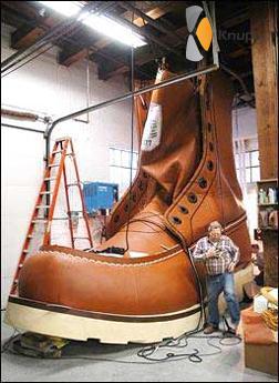 gigantische schoen