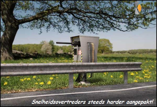 snelheidsovertreders steeds harder aangepakt!