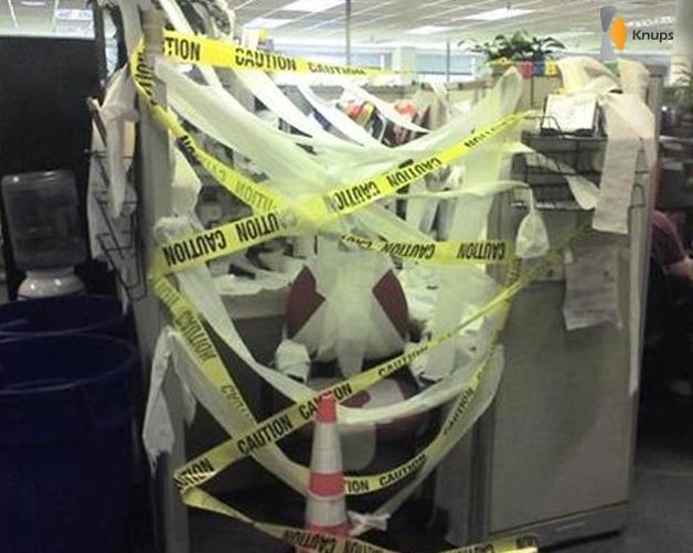 gevaarlijke werkplek