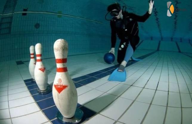 onderwater bowlen