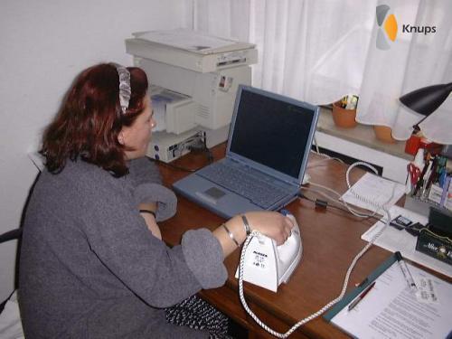 nieuwe computermuis strijkbout