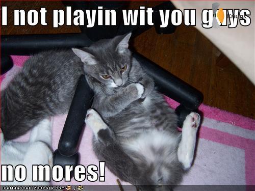 ik speel niet meer met je