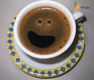 smylie in de koffie