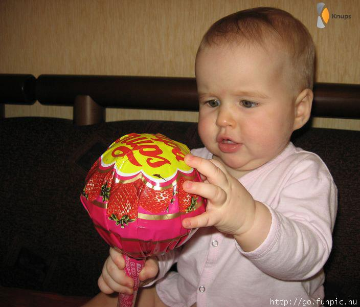 hele grote lolly