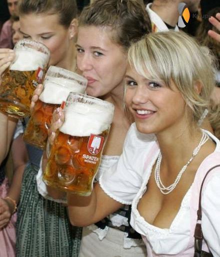 lekker groot biertje