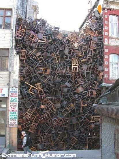 stoelen verzameling