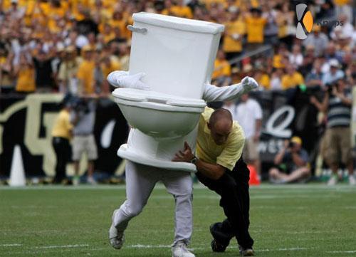 toilet mascotte