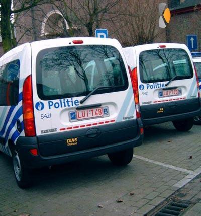 kentekenplaat politie