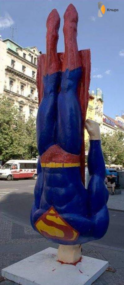 superman gevallen