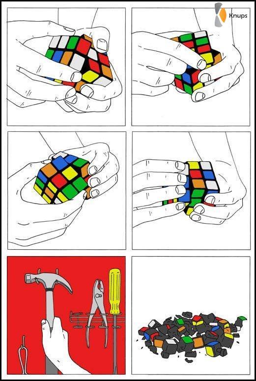 hoe los je een kubus op