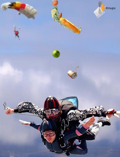 verkeerde parachute meegenomen