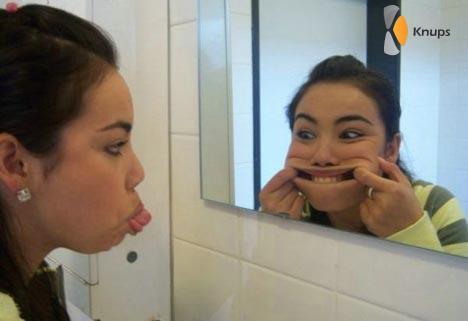eigenwijze spiegel