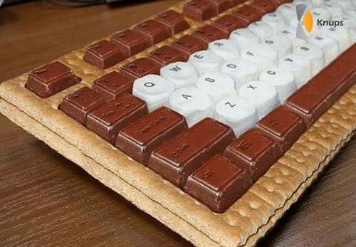 toetsenbord van snoep