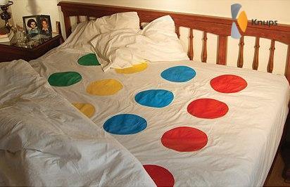 twister op bed