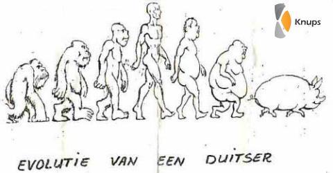 evolutie van de duitser