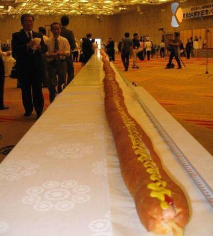 mega hot-dog