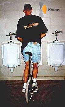 ik moet even naar de wc