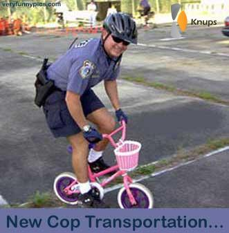 nieuw vervoer voor de politie