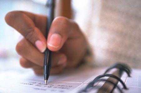 schrijven met rechts